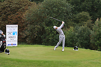 Jens Dantorp (SWE) on the 3rd tee during Round 1 of the Bridgestone Challenge 2017 at the Luton Hoo Hotel Golf &amp; Spa, Luton, Bedfordshire, England. 07/09/2017<br /> Picture: Golffile | Thos Caffrey<br /> <br /> <br /> All photo usage must carry mandatory copyright credit     (&copy; Golffile | Thos Caffrey)
