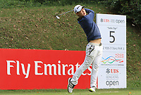 Jazz Janewattananond (THA) on the 5th tee during Round 1 of the UBS Hong Kong Open, at Hong Kong golf club, Fanling, Hong Kong. 23/11/2017<br /> Picture: Golffile | Thos Caffrey<br /> <br /> <br /> All photo usage must carry mandatory copyright credit     (&copy; Golffile | Thos Caffrey)