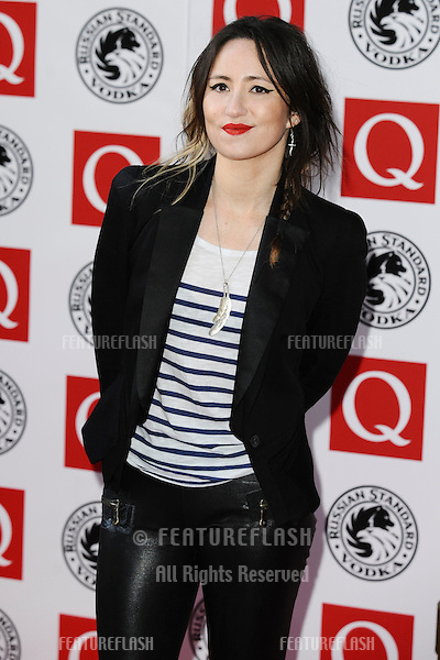 K T Tunstall arriving for the 2010  Q magazine Awards at the Grosvenor House Hotel, London. 25/10/2010  Picture by: Steve Vas / Featureflash