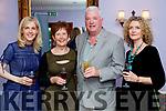 Sinead Moriarty (Writer) Ann Cummins (Ballybunion) Justine McCarthy (The Irish Times) and Patrick Cummins (Ballybunion), attending the Women in Media event, in Ballybunion on Saturday last.
