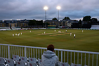 General view of play late in the day during Essex CCC vs Middlesex CCC, Specsavers County Championship Division 1 Cricket at The Cloudfm County Ground on 28th June 2017