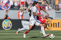 Carson, CA - Sunday, February 8, 2015: Jermaine Jones (13) of the USMNT. The USMNT defeated Panama 2-0 during an international friendly at the StubHub Center