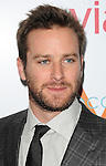 Armie Hammer arriving at the First Annual The Daily Front Row Fashion Los Angeles Awards held at Sunset Tower Hotel Los Angeles Ca. January 22, 2015