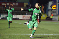 Carlisle United vs Dagenham & Redbridge 11-12-10