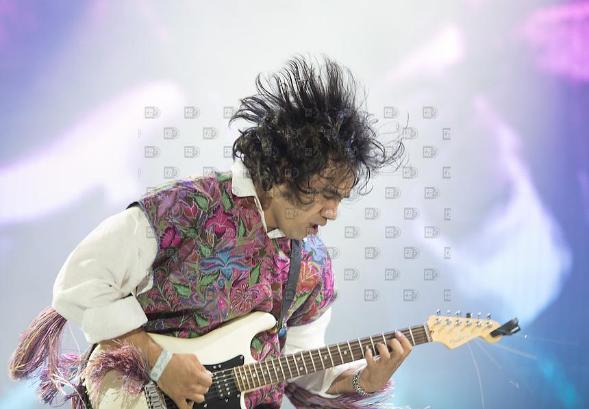 PAPANTLA, VERACRUZ, D.F. 20  Marzo.- SAK Tzevul durante el Festival Cumbre Tajin 2015 en  Papantla, Veracruz, México, el 120 de Marzo de 2015.  FOTO: ALEJANDRO MELENDEZ