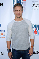 Derek Hough<br /> at Clayton Kershaw's Ping Pong 4 Purpose Celebrity Tournament to Benefit Kershaw's Challenge, Dodger Stadium, Los Angeles, CA 08-11-16<br /> David Edwards/MediaPunch