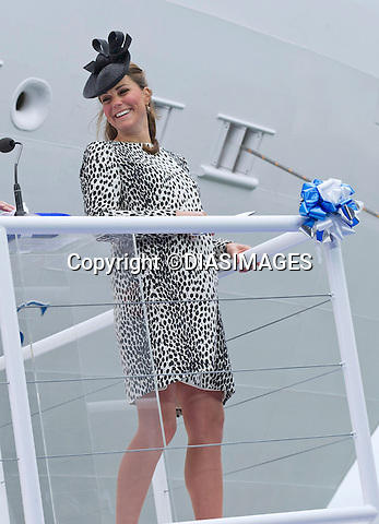 KATE, DUCHESS OF CAMBRIDGE<br />