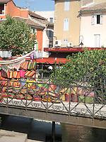Market day in Isle-sur-la-Sorgue