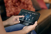 Complete Home Control from a simple Control4 Touch Panel that blends seamlessly with any decor.