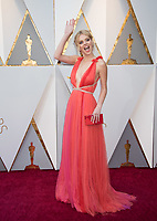 Samara Weaving arrives on the red carpet of The 90th Oscars&reg; at the Dolby&reg; Theatre in Hollywood, CA on Sunday, March 4, 2018.<br /> *Editorial Use Only*<br /> CAP/PLF/AMPAS<br /> Supplied by Capital Pictures