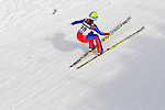 HOLMENKOLLEN, OSLO, NORWAY - March 17: Eva Logar of Slovenia (SLO) during the Ladies FIS Ski Jumping World Cup from the large hill HS 134 Holmenkollbakken on March 17, 2013 in Oslo, Norway. (Photo by Dirk Markgraf)