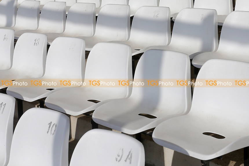 Empty seats ahead of Kent CCC vs Essex CCC, Specsavers County Championship Division 1 Cricket at the St Lawrence Ground on 20th August 2019