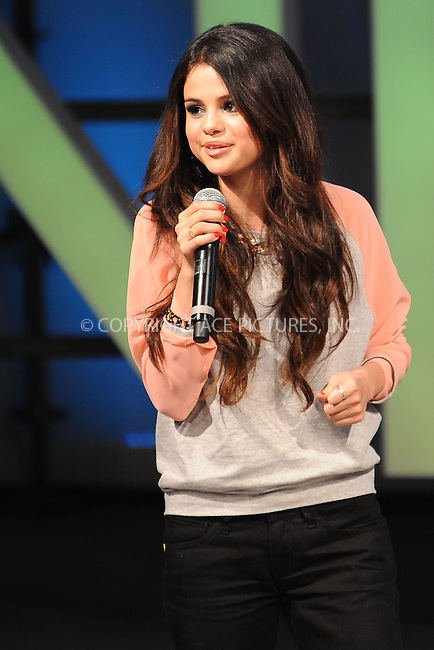 WWW.ACEPIXS.COM . . . . . .February 6, 2013...New York City....NEO style icon Selena Gomez in attendance as 30 looks selected by Gomez and teen bloggers walk the runway at the adidas NEO Fashion event on February 6, 2013 in New York City ....Please byline: KRISTIN CALLAHAN - ACEPIXS.COM.. . . . . . ..Ace Pictures, Inc: ..tel: (212) 243 8787 or (646) 769 0430..e-mail: info@acepixs.com..web: http://www.acepixs.com .