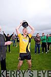 A jubilant Eoin O'Carroll after Asdee defeat  Charleville last Sunday in the Munster Novice final played in Knockaderry