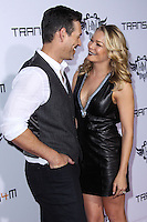 HOLLYWOOD, CA - JANUARY 23: Eddie Cibrian and LeAnn Rimes arrive at the 3rd Annual will.i.am TRANS4M Benefit Concert held at Avalon on January 23, 2014 in Hollywood, California. (Photo by Xavier Collin/Celebrity Monitor)