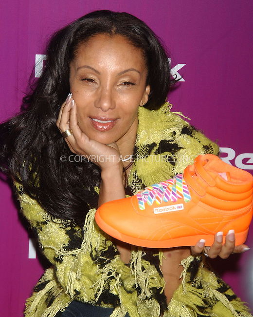WWW.ACEPIXS.COM.........March 1 2007, New York City....Julie Brown attending Reebok's  25th Anniversary of the Freestyle Colllection celebration at Culture Club in Manhattan.......Byline:  KRISTIN CALLAHAN - ACEPIXS.COM....For information please contact:....Philip Vaughan, 212 243 8787 or 646 769 0430..Email: info@acepixs.com..Web: WWW.ACEPIXS.COM