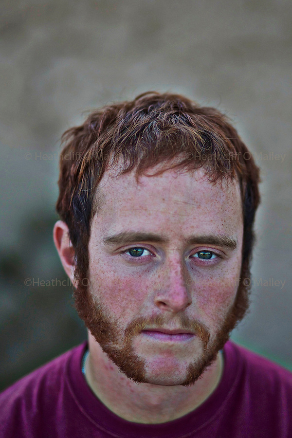 Mcc0027461 . Daily Telegraph..LCpl Aidan Cleverly..Portraits of men from 5 Platoon, B Coy, 3 Para in PB Washiran..Helmand 27 November 2010