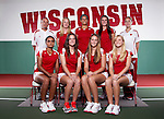 2012-13 Wisconsin Badgers Women's Tennis-Team and Portraits