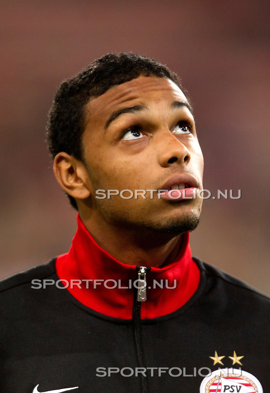 Nederland, Amsterdam, 4 oktober  2012.Seizoen 2012-2013.EuropaLeague.PSV-Napoli.Jurgen Locadia van PSV in actie