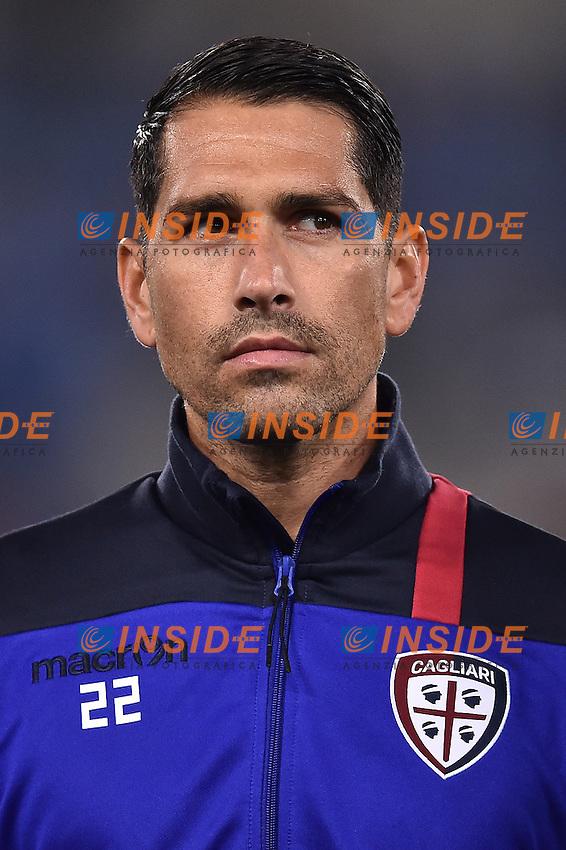 Marco Borriello Cagliari <br /> Roma 26-10-2016  Stadio Olimpico <br /> Football Calcio Serie A 2016/2017 Lazio - Cagliari <br /> Foto Andrea Staccioli / Insidefoto