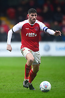 Fleetwood Town's Ched Evans in action<br /> <br /> Photographer Richard Martin-Roberts/CameraSport<br /> <br /> The EFL Sky Bet League One - Fleetwood Town v Plymouth Argyle - Saturday 16th March 2019 - Highbury Stadium - Fleetwood<br /> <br /> World Copyright © 2019 CameraSport. All rights reserved. 43 Linden Ave. Countesthorpe. Leicester. England. LE8 5PG - Tel: +44 (0) 116 277 4147 - admin@camerasport.com - www.camerasport.com
