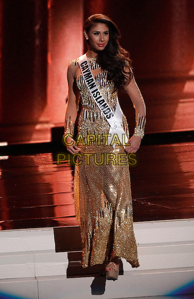 16 December 2015 - Las Vegas, Nevada - Miss Cayman Islands, Tonie Maria Chisholm.  2015 Miss Universe Preliminary Competition at Axis at Planet Hollywood Resort and Casino. <br /> CAP/ADM/MJT<br /> &copy; MJT/AdMedia/Capital Pictures