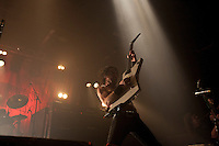 Airbourne performing at The Palace Theatre, Melbourne, 3 June 2011