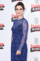 Charlotte Riley at the Empire Film Awards 2017 at The Roundhouse, Camden, London, UK. <br /> 19 March  2017<br /> Picture: Steve Vas/Featureflash/SilverHub 0208 004 5359 sales@silverhubmedia.com