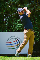 Ryan Moore (USA) watches his tee shot on 4 during round 2 of the World Golf Championships, Mexico, Club De Golf Chapultepec, Mexico City, Mexico. 3/3/2017.<br /> Picture: Golffile | Ken Murray<br /> <br /> <br /> All photo usage must carry mandatory copyright credit (&copy; Golffile | Ken Murray)