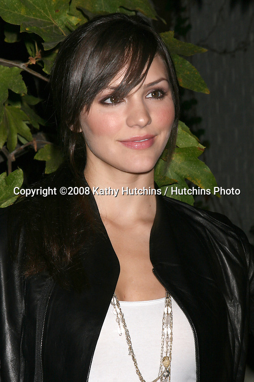 Katharine McPhee arriving at the Oceana Annual Gala at a private home in Pacific Palisades, CA on.October 18, 2008.©2008 Kathy Hutchins / Hutchins Photo...                .