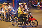 Using Cell Phone On Motorbike