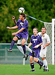 11 September 2009: University of Portland Pilots' midfielder Jarad vanSchaik, a Junior from Tualatin, OR, in action against the University of Vermont Catamounts in the first round of the 2009 Morgan Stanley Smith Barney Soccer Classic held at Centennial Field in Burlington, Vermont. The Catamounts and Pilots battled to a 1-1 double-overtime tie. Mandatory Photo Credit: Ed Wolfstein Photo