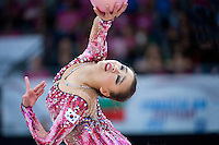 September 11, 2015 - Stuttgart, Germany - SON YEON-Jae of South Korea performs during AA final at 2015 World Championships.