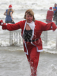 Senator Mary Moran who took part in the Polar Plunge in aid of the Special Olympics at Clogherhead beach, County Louth. Photo:Colin Bell/pressphotos.ie