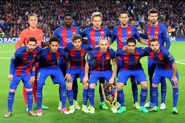 UEFA Champions League 2016/2017.<br /> Quarter-finals 2nd leg.<br /> FC Barcelona vs Juventus Football Club: 0-0.