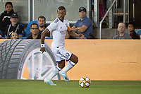 SAN JOSE,  - AUGUST 31: Nani  #17 of the Orlando City SC during a game between Orlando City SC and San Jose Earthquakes at Avaya Stadium on September 1, 2019 in San Jose, .