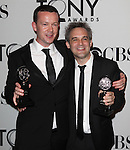 Enda Walsh & Martin Lowe pictured at the 66th Annual Tony Awards held at The Beacon Theatre in New York City , New York on June 10, 2012. © Walter McBride