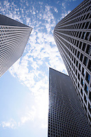 Tel Aviv - Azrieli center<br /> Futuristic financial district
