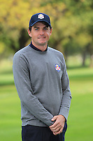 Keegan Bradley at The USA Team Picture for the Ryder Cup 2012, Medinah Country Club,Medinah, Illinois,USA.Picture: Fran Caffrey/www.Golffile.ie.