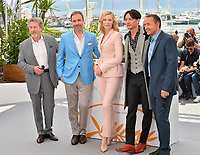 Robert Guediguian, Denis Villeneuve, Cate Blanchett, Chang Chen &amp; Andrey Zvyagintsev at the photocall for the Cannes Jury at the 71st Festival de Cannes, Cannes, France 08 May 2018<br /> Picture: Paul Smith/Featureflash/SilverHub 0208 004 5359 sales@silverhubmedia.com