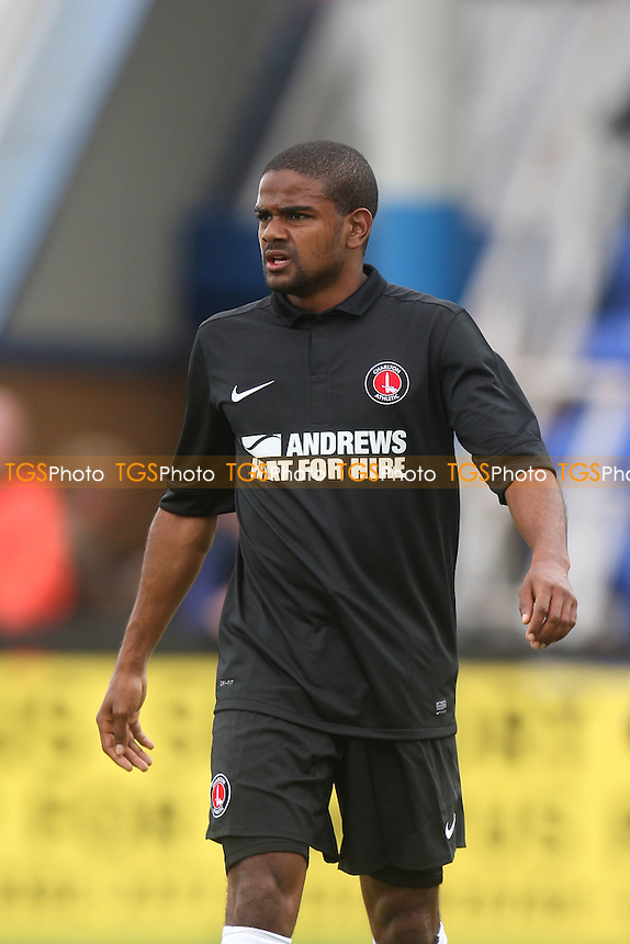 Calum Harriott of Charlton Athletic -  Welling United vs Charlton Athletic at the Park View Road Stadium - 14/07/12 - MANDATORY CREDIT: Dave Simpson/TGSPHOTO - Self billing applies where appropriate - 0845 094 6026 - contact@tgsphoto.co.uk - NO UNPAID USE.