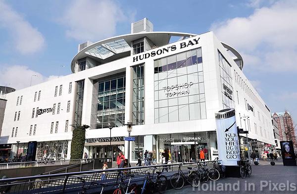 Nederland - Rotterdam - 26 maart 2018. Hudson's Bay bij de Koopgoot.  Foto Berlinda van Dam / Hollandse Hoogte.