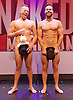 The Naked Magicians <br /> at the Trafalgar Studios, London, Great Britain <br /> 1st September 2016 <br /> press photocall <br /> <br /> <br /> Mike Tyler <br /> <br /> Christopher Wayne <br /> <br /> <br /> Photograph by Elliott Franks <br /> Image licensed to Elliott Franks Photography Services