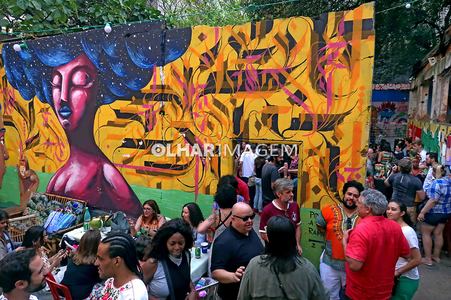Ocupaçao 9 de julho, Sao Paulo. 2019. Foto Juca Martins