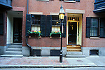 N.A., USA, Massachussetts, Boston, Beacon Hill, Townhouse