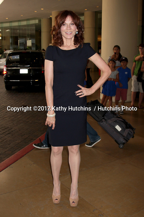 LOS ANGELES - AUG 2:  Marilu Henner arrives at the Hallmark Channel TCA Press Tour 2012 at Beverly Hilton Hotel on August 2, 2012 in Beverly Hills, CA