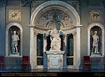 Leo X Giovanni dalle Bande Nere Alessandro de Mori Bandinelli de'Rossi Salone dei Cinquecento (Hall of 500) Palazzo Vecchio Florence