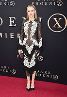 """HOLLYWOOD, CA - JUNE 04: Halston Sage arrives at the Premiere Of 20th Century Fox's """"Dark Phoenix"""" at TCL Chinese Theatre on June 04, 2019 in Hollywood, California.<br /> CAP/ROT/TM<br /> ©TM/ROT/Capital Pictures"""