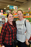 FREE PIC - NO REPRO FEE<br /> 24/09/2015 - Blackpool, Cork<br /> Friends Hayley Meehan (left) and Gemma Lynch at the official opening of the new Dealz store at Blackpool Retail Park, Cork.<br /> Pic: Brian Lougheed