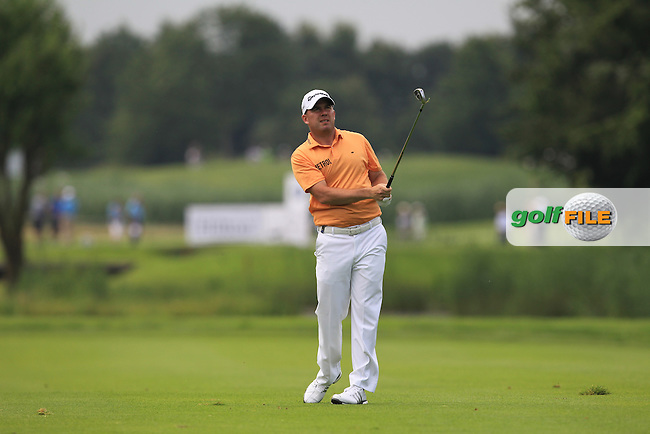 Richie Ramsay (SCO) on the 2nd fairway during the Round 2 of the 2016 BMW International Open at the Golf Club Gut Laerchenhof in Pulheim, Germany on Friday 24/06/16.<br /> Picture: Golffile | Thos Caffrey